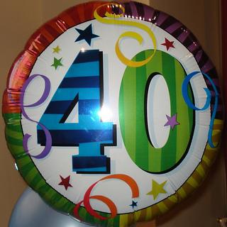 Cumplir 40!!!!!